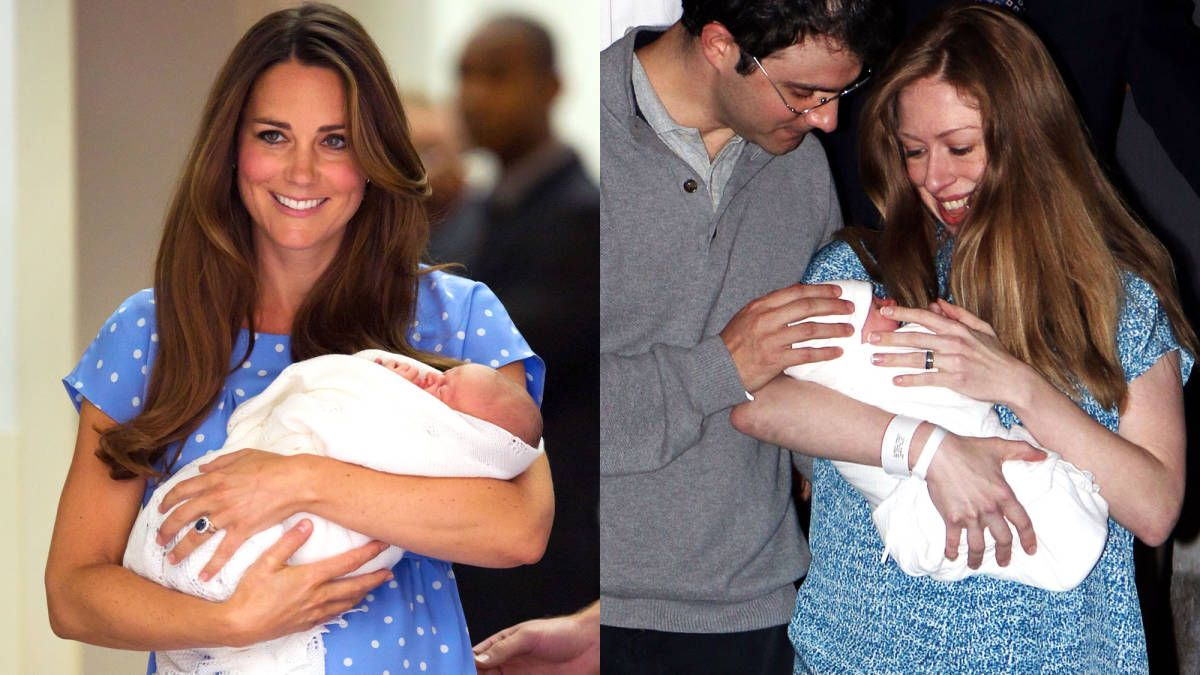 Chelsea Clinton Channeled Kate Middleton's Post-Hospital Style