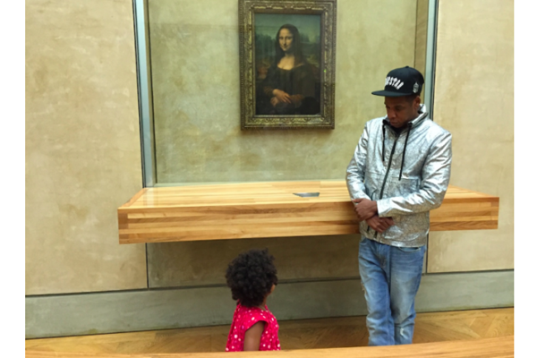 Beyoncé and Jay Z Take Over the Louvre