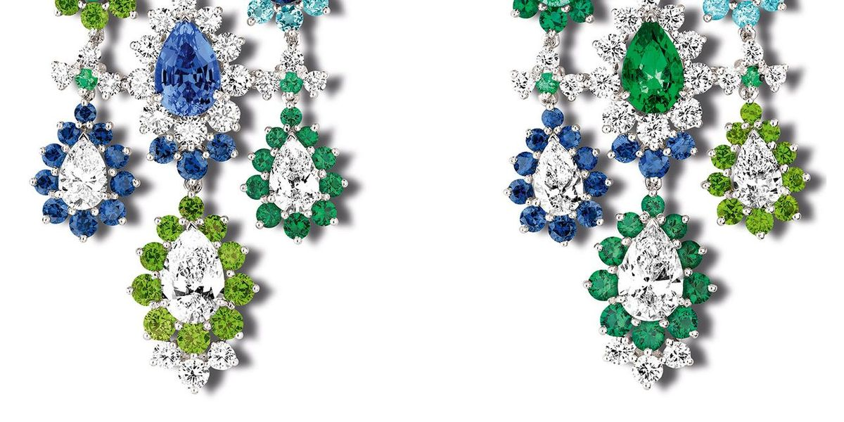Dior's Chandelier Earrings Bring Light to Dark Days