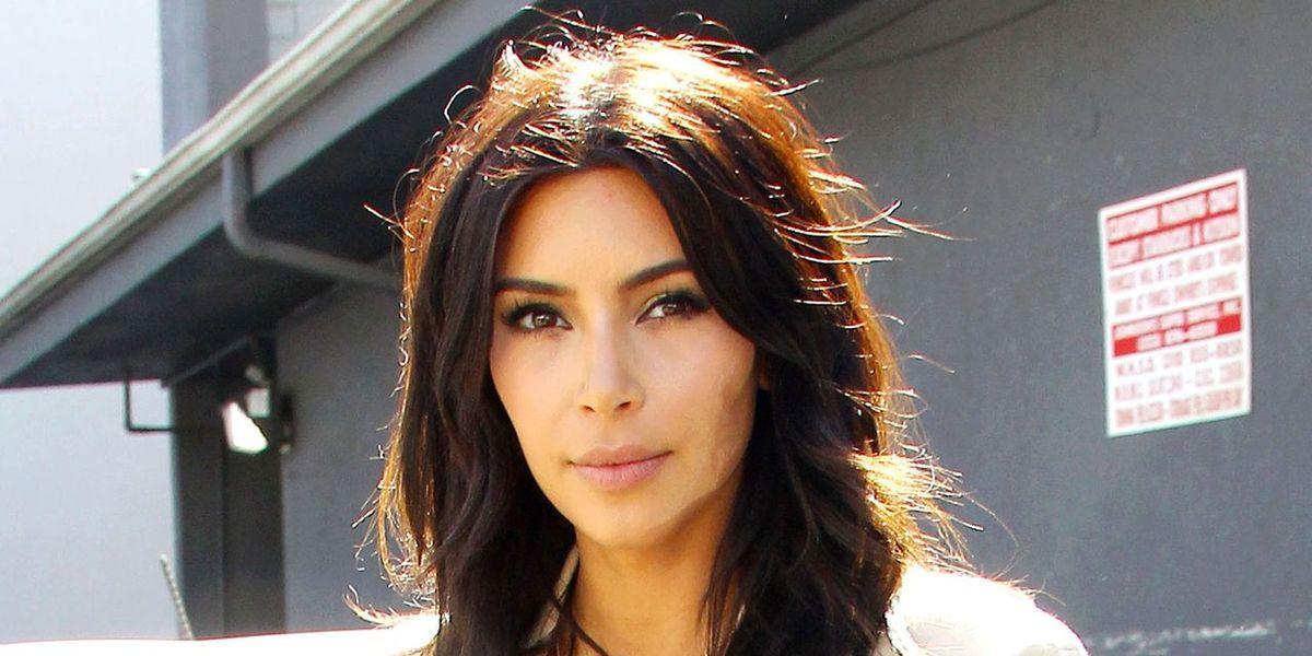 Kim Kardashian's New Hair is Super Chic
