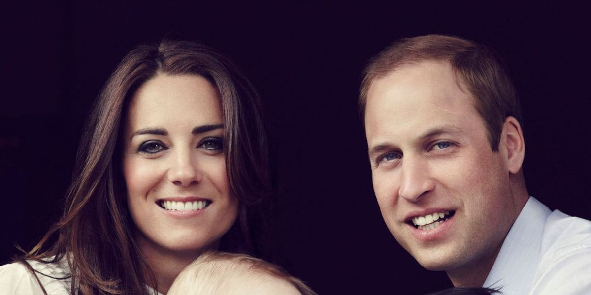 Prince William & Kate Middleton Release Intimate Family Portrait