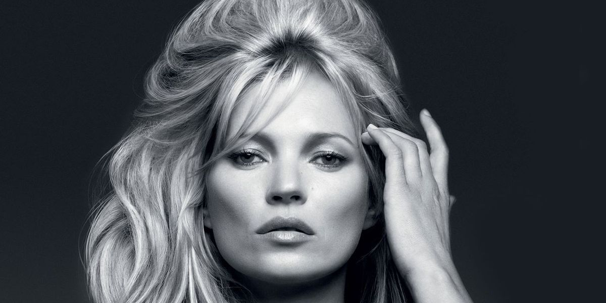 How to Get Kate Moss' '60s-Inspired Bouffant