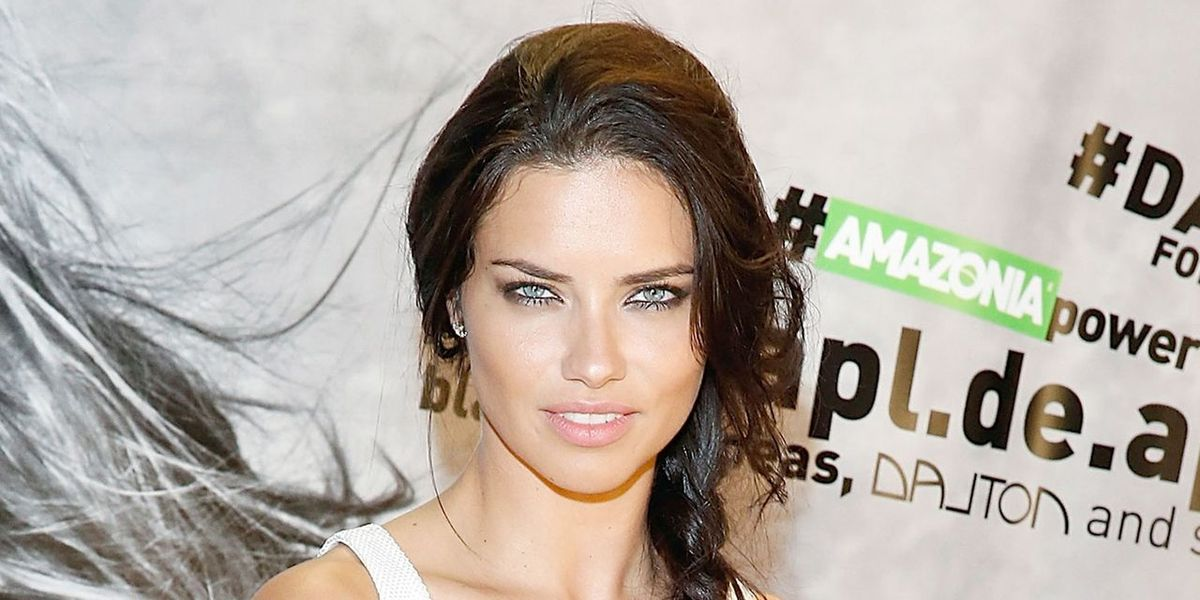 Born With It: Adriana Lima For Maybelline