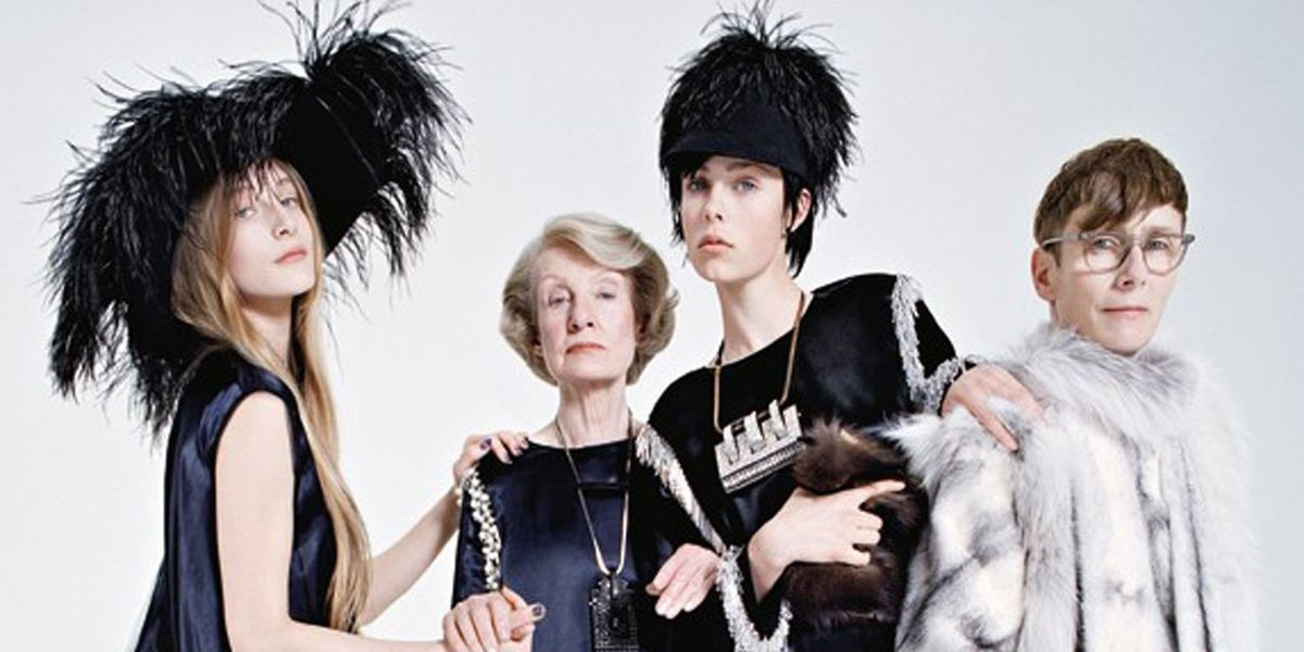 Edie Campbell and Family Celebrate Lanvin's 125th Birthday