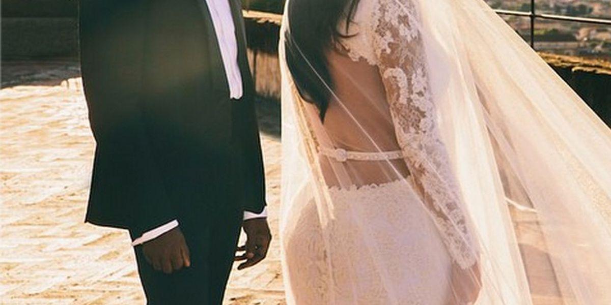 Take a Stunning New Look at the Kimye Wedding