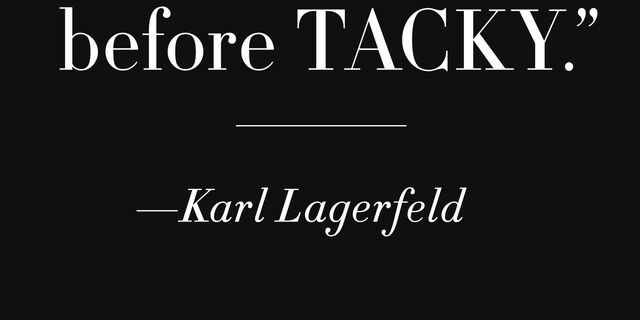 50 Famous Fashion Quotes From Karl Lagerfeld Coco Chanel Diana