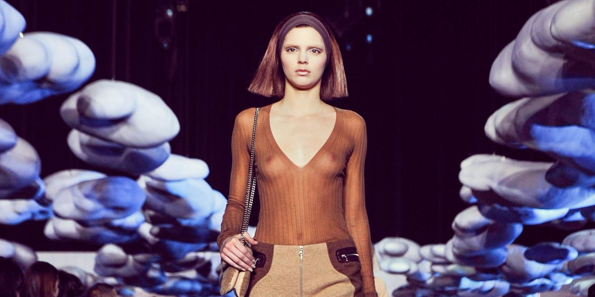 A Kardashian Makes Her Debut on the Marc Jacobs Runway