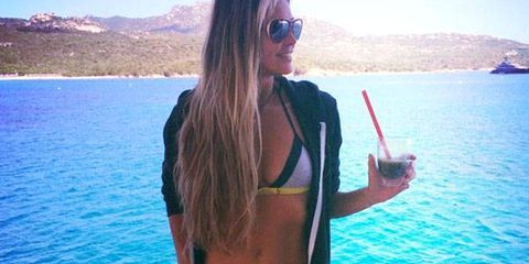 Elle Macpherson's Green Fountain of Youth