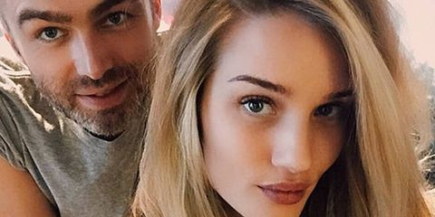 Rosie Huntington-Whiteley Has a Short New Cut