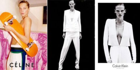 a6e2bed2939 The Latest Campaigns: Daria for Celine, Lara for Calvin Klein