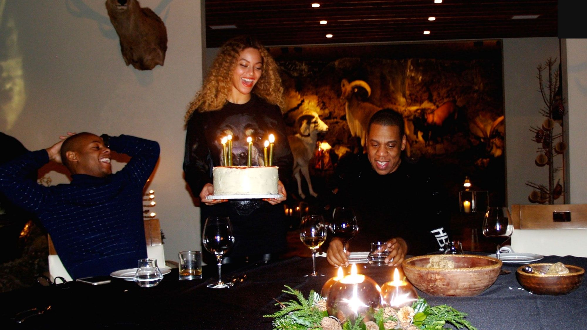 Beyonce Shares Winter Vacation Pictures With Jay Z