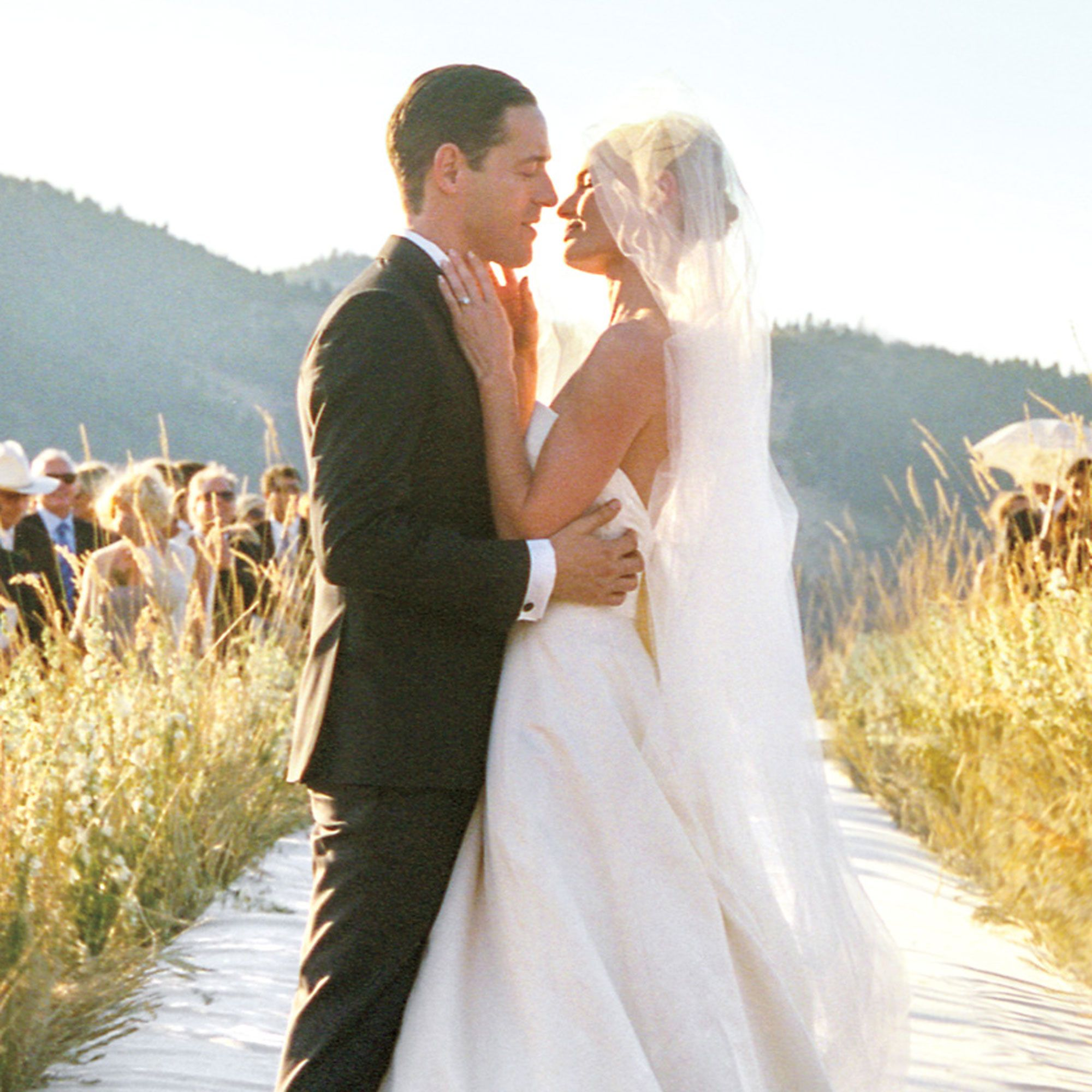 Kate Bosworth and Michael Polish on their wedding day, Source: Harper's Bazaar