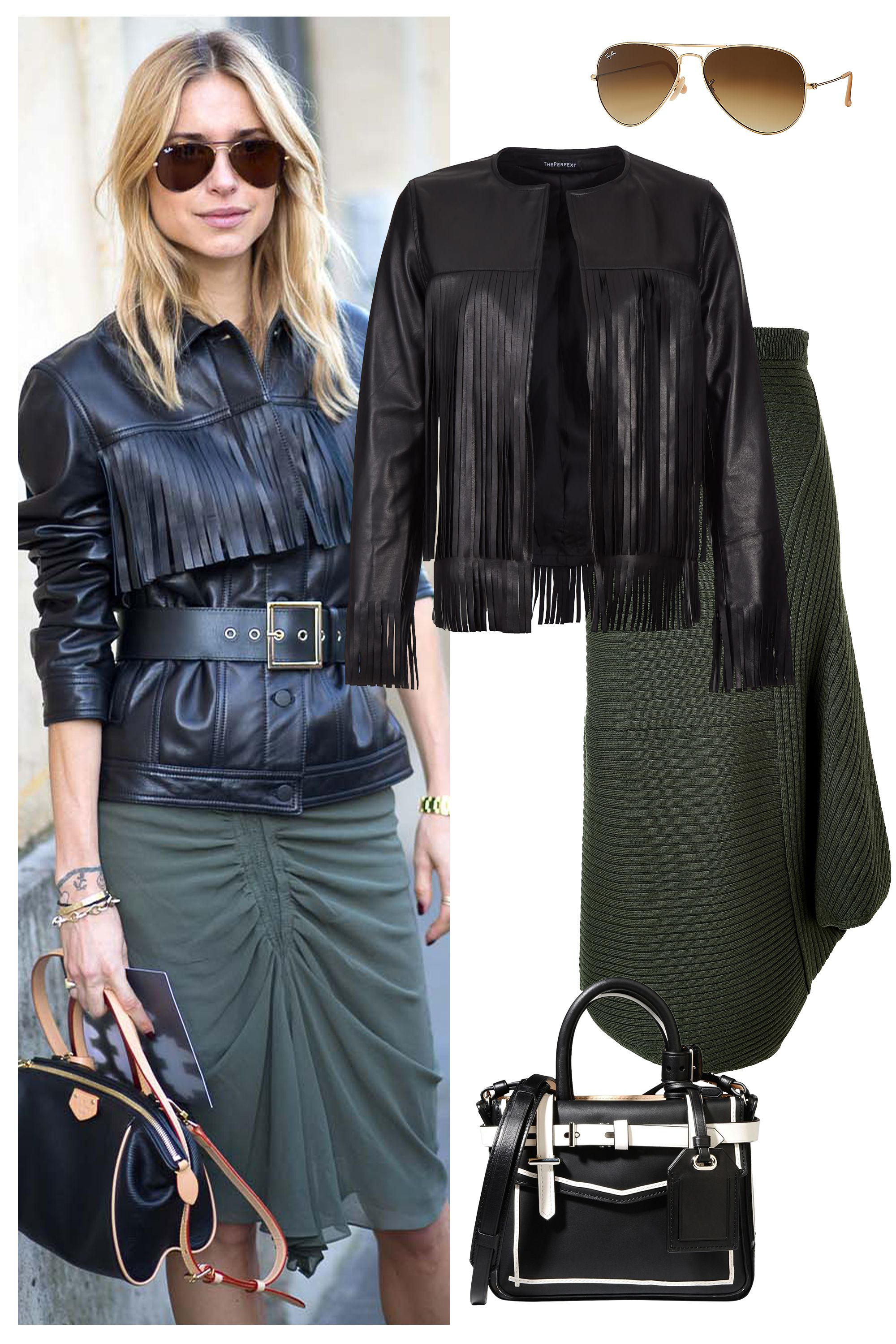 Shop the Look: Black Leather is Better