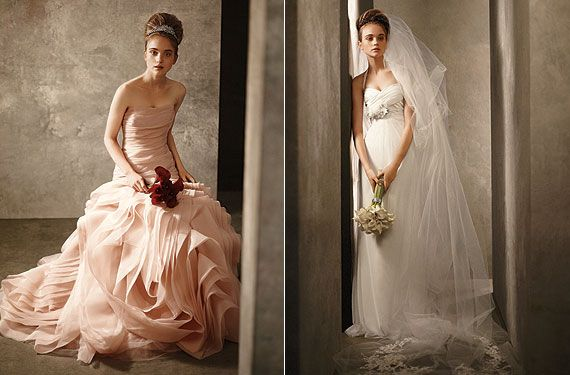 Vera Wangs Affordable Wedding Dress Collection