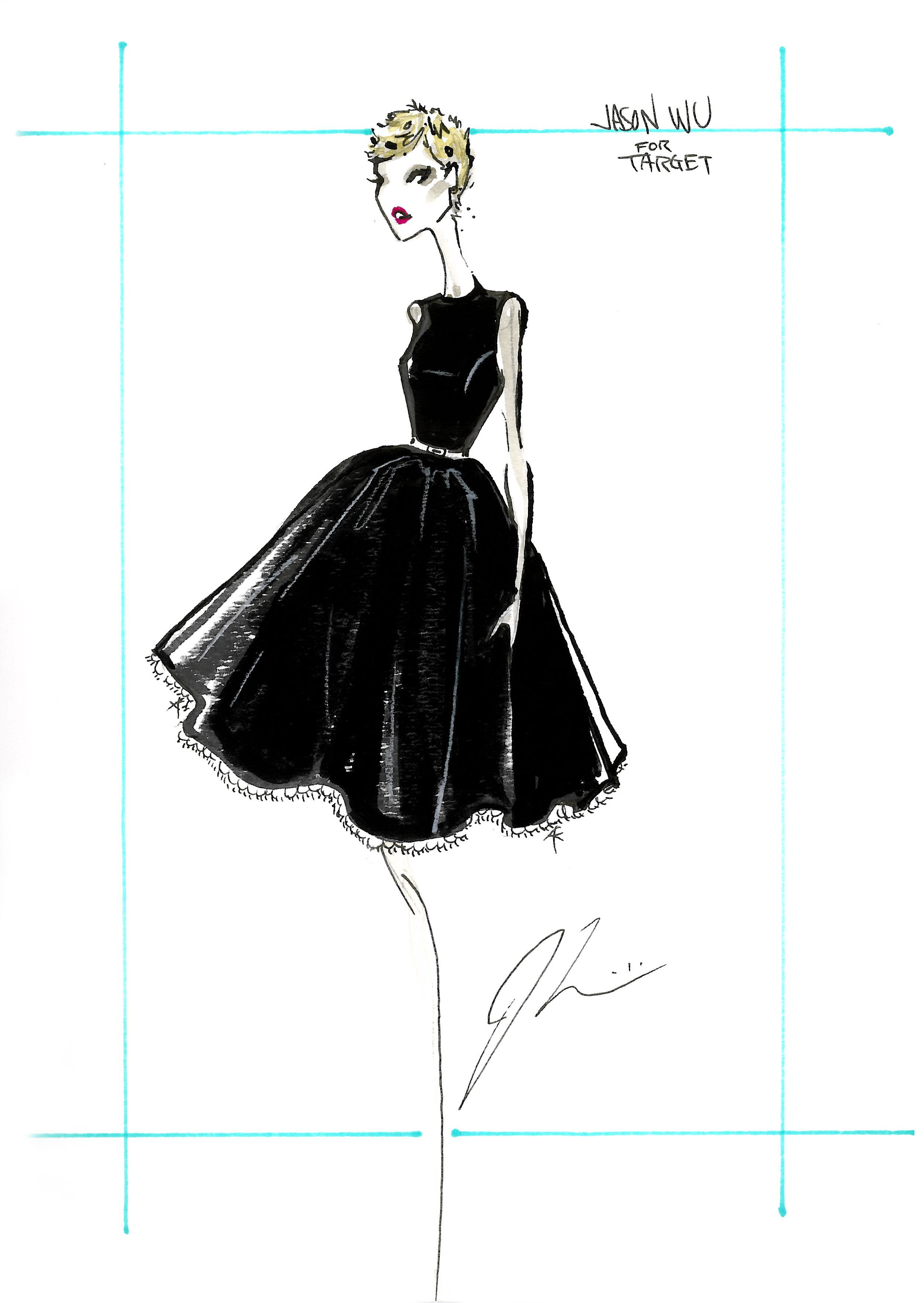 EXCLUSIVE: Its Jason Wu For Target Plus, A Chance to Win An Autographed Sketch