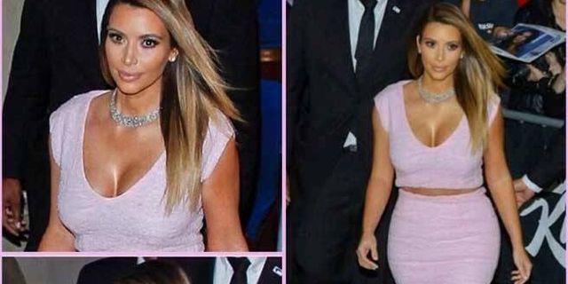 Kim Kardashian Hacks Her Dior Dress