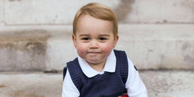 See Prince George's Sweet Christmas Photos