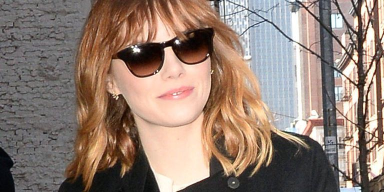 Emma Stone Opts for Bangs