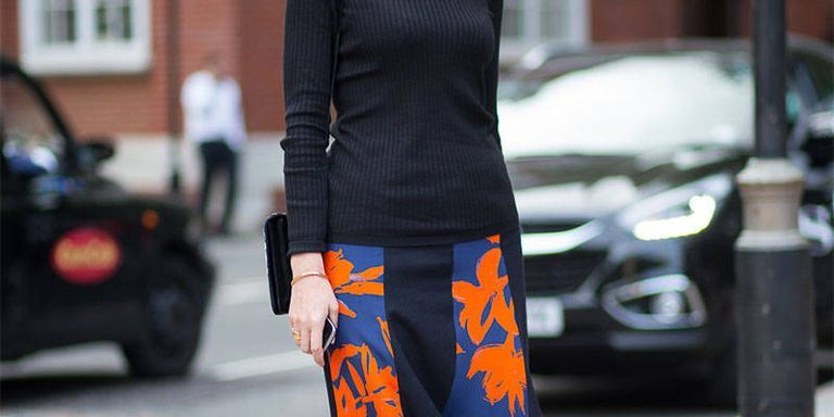 Shop the Street Style Look: A Floral Midi