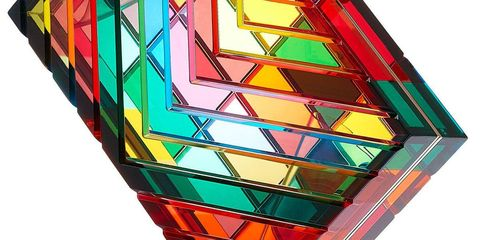 Colorfulness, Amber, Triangle, Tints and shades, Puzzle, Mechanical puzzle, Square, Symmetry, Toy,