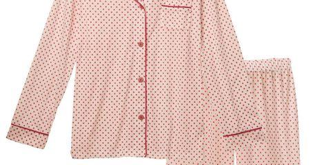 Sleeve, Collar, Textile, Pattern, Dress shirt, Beige, Blazer, Peach, Creative arts, Pattern,