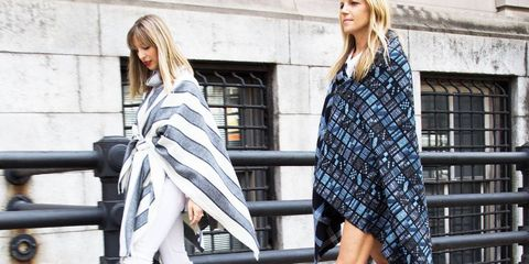 DIY: How to Make Fall's Must-Have Blanket Coat