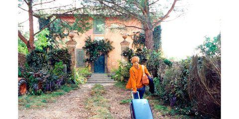 Plant, House, Travel, Shrub, Rural area, Door, Arch, Baggage, Village, Yard,