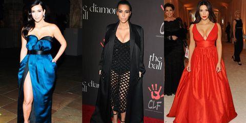 Kim Kardashian's 50 Top Looks of 2014