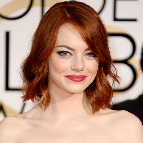Emma Stone Golden Globes Hair How To Best Beauty Looks At The 2015 Golden Globes