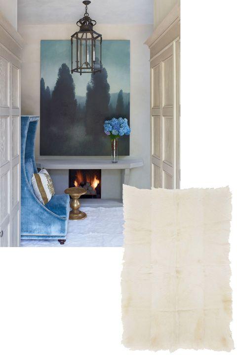 Room, Wall, Interior design, Light fixture, Molding, Teal, Paint, Interior design, Plaster, Chandelier,
