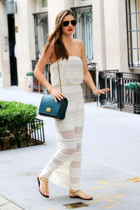 Clothing, Shoulder, Joint, Sunglasses, Style, Street fashion, Bag, Slipper, Waist, Fashion accessory,