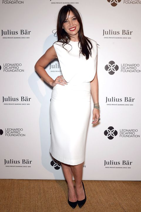 Dress, Sleeve, Shoulder, Joint, White, Style, Formal wear, One-piece garment, Waist, Fashion,