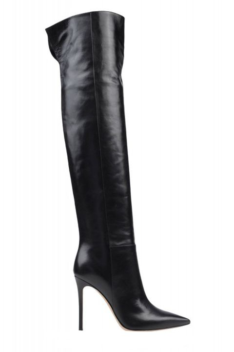 Boot, Leather, Knee-high boot, Fashion design, Synthetic rubber,