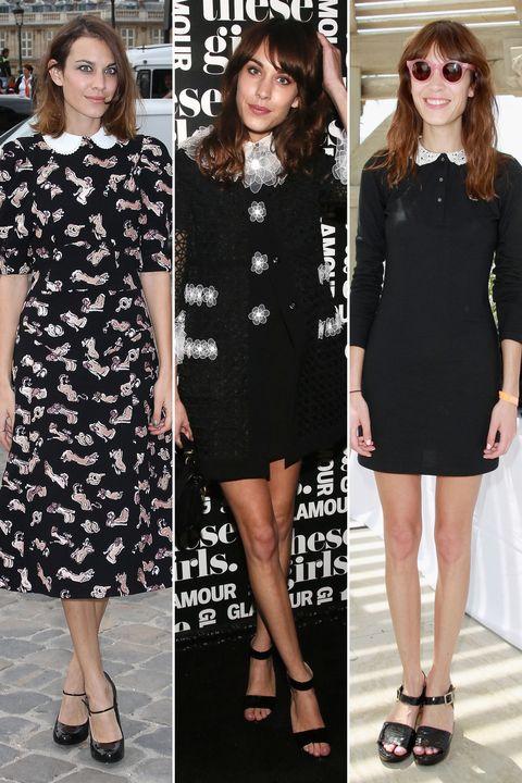 Clothing, Footwear, Dress, Sleeve, Shoulder, Joint, Formal wear, Pattern, Style, One-piece garment,
