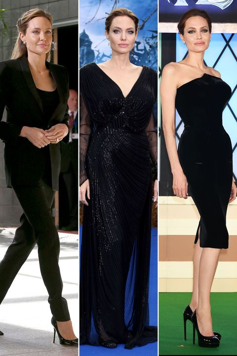 Clothing, Footwear, Hairstyle, Dress, Shoulder, Joint, Formal wear, Style, Waist, One-piece garment,