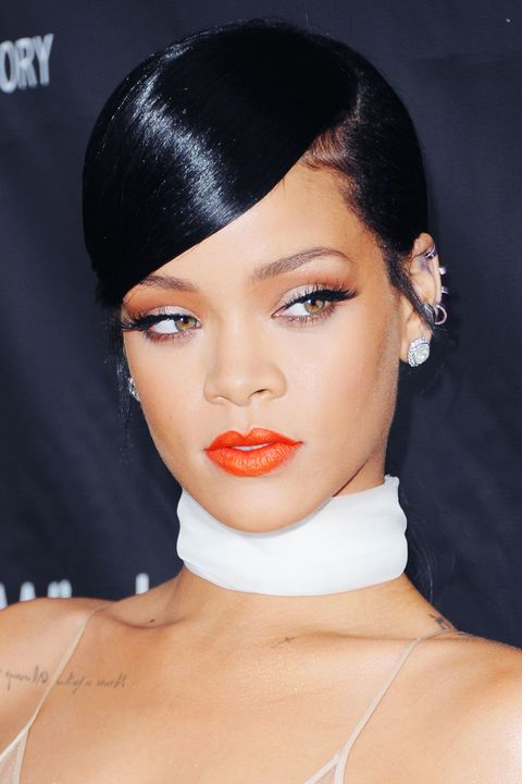 Lip, Cheek, Brown, Hairstyle, Skin, Chin, Forehead, Eyelash, Eyebrow, Earrings,