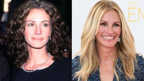 Vieillissement : Julia Roberts avant et après
