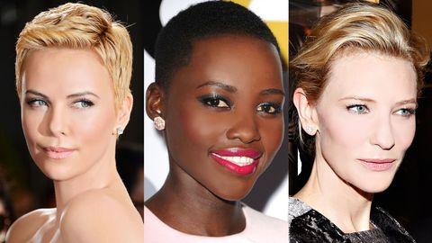 Face, Head, Nose, Ear, Lip, Cheek, Brown, Hairstyle, Skin, Earrings,