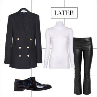 Product, Sleeve, Textile, White, Collar, Pattern, Denim, Coat, Fashion, Black,