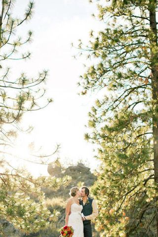Clothing, Dress, Petal, Photograph, Bridal clothing, Outerwear, Bride, Happy, People in nature, Wedding dress,