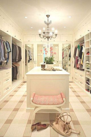 Floor, Room, Interior design, Flooring, Light fixture, Closet, Ceiling, Chandelier, Clothes hanger, Ceiling fixture,