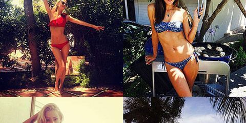 Beach Dreamin': Celebs in Chic Swim