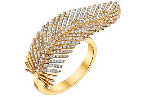 a golden quill with a diamond makeover