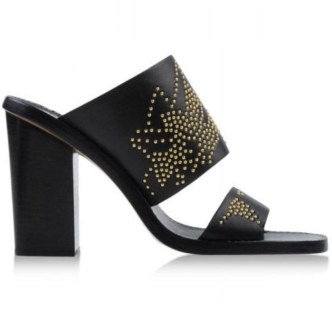 Product, High heels, Costume accessory, Fashion, Black, Sandal, Beige, Material property, Leather, Design,