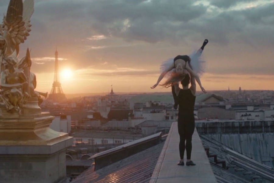 Members of the Paris Opera Ballet Dance on Rooftops