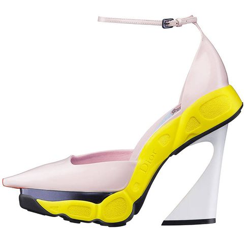 Footwear, High heels, Product, Yellow, Sandal, Basic pump, Fashion, Beige, Foot, Court shoe,