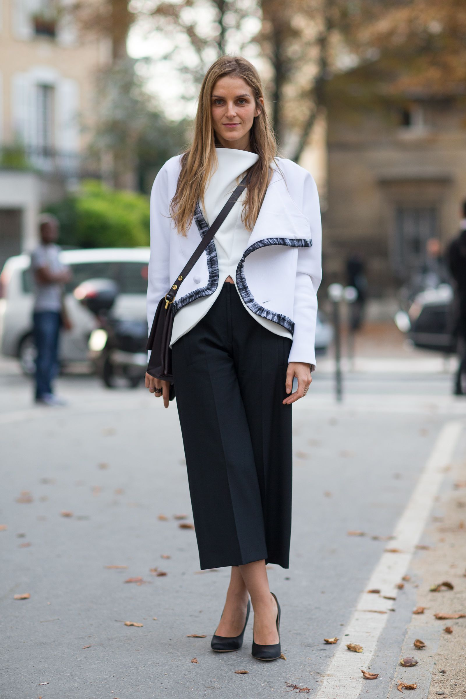 Culotte street style trends