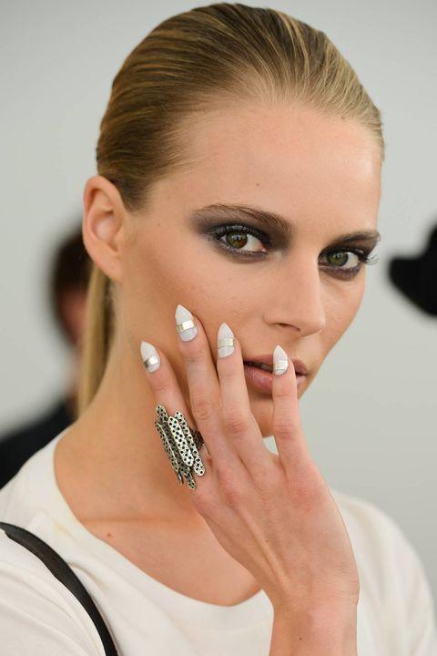 Embellished White