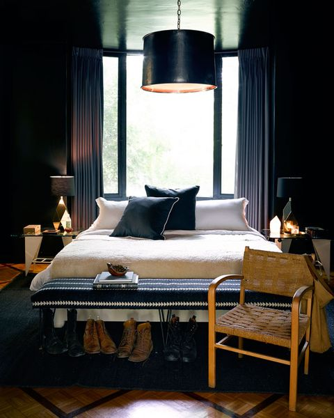 Lighting, Room, Interior design, Property, Textile, Lamp, Lampshade, Bedroom, Bedding, Wall,