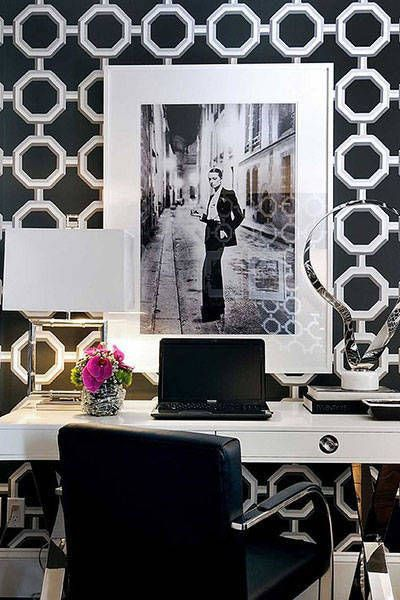 The Chicest Wallpaper Inspiration from Pinterest